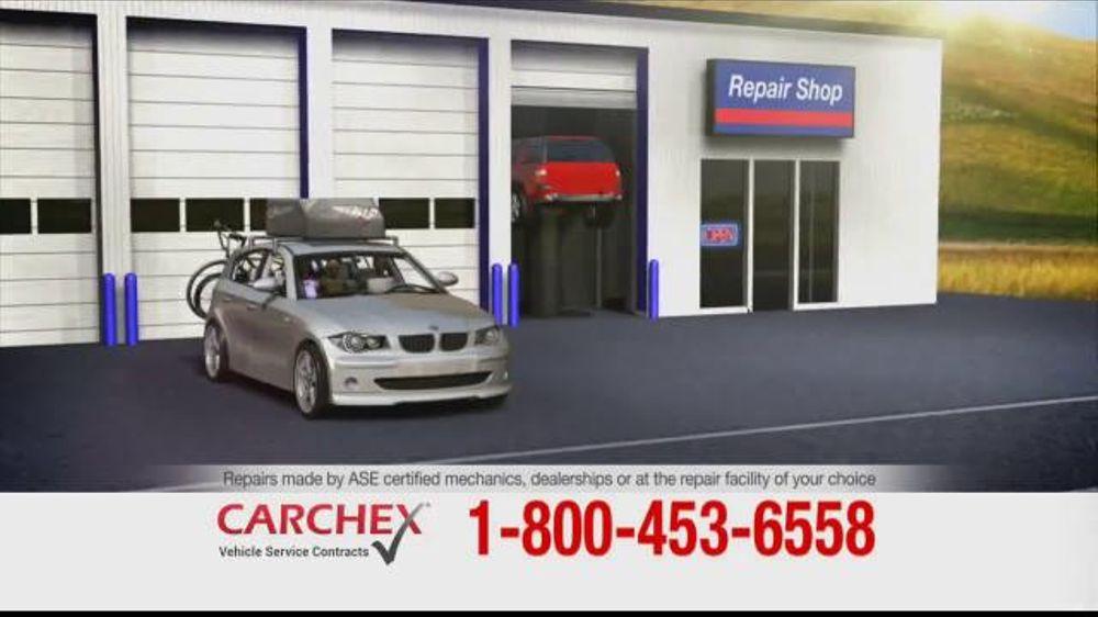 CARCHEX allows flexible repair shop options.