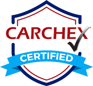 CARCHEX 'Certified' badge.