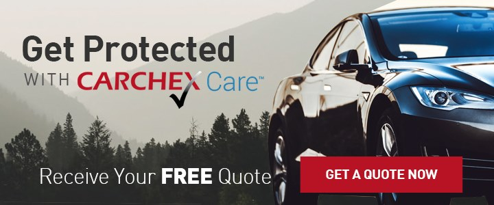 CARCHEX promotional banner saying 'Get Protected With CARCHEX Care'