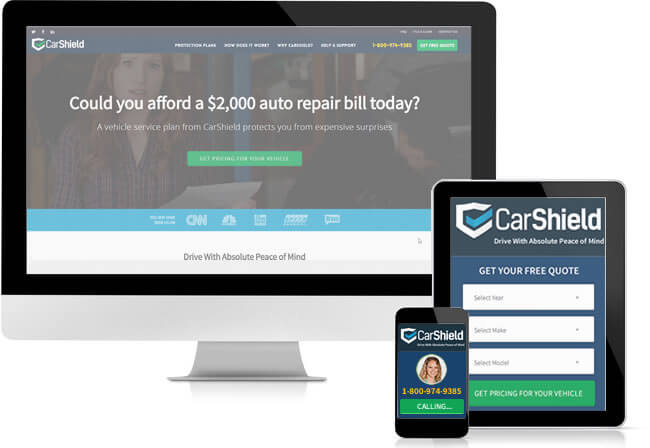 With the company's mobile app and website, you can manage your CarShield account from multiple devices.
