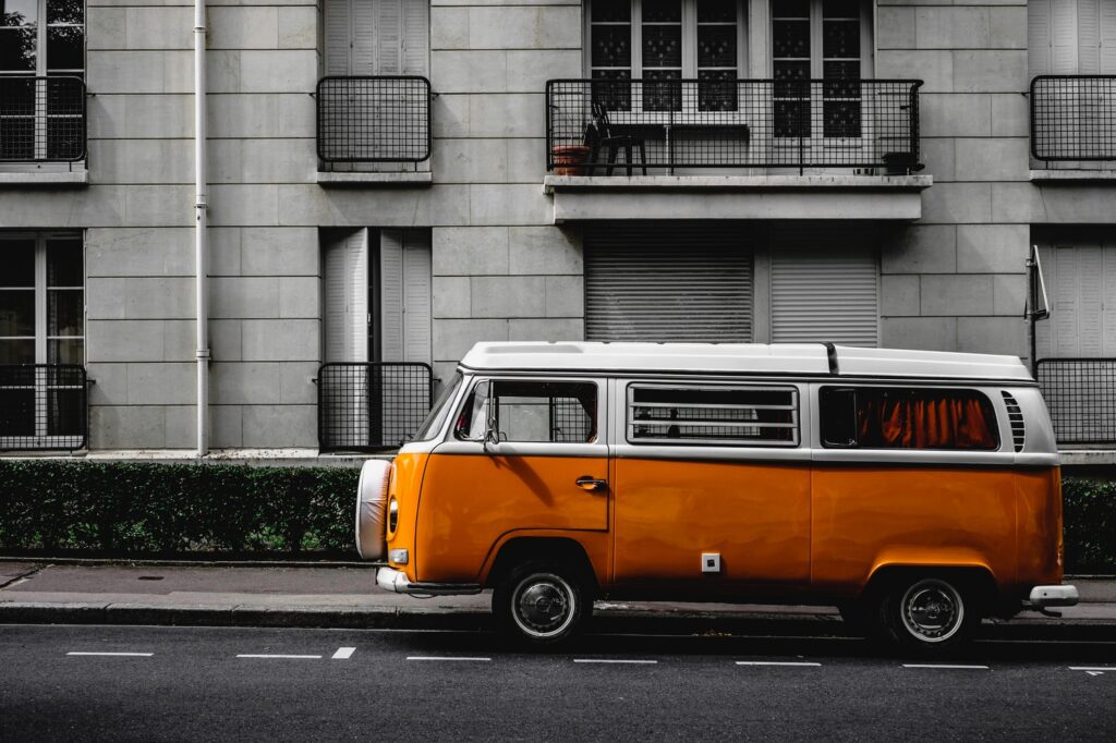 This coverage tier suits older, high mileage vehicles like this VW bus.